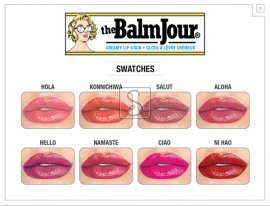 theBalmJour® Creamy Lip Stain - The Balm Cosmetics