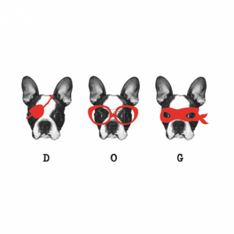 3 of a kind - Dogs - Paperself