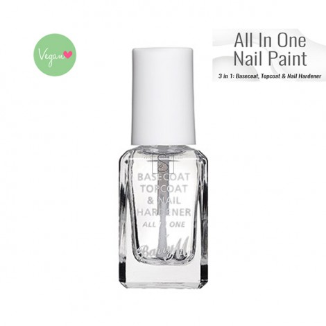 All in One Nail Paint - Clear - Barry M
