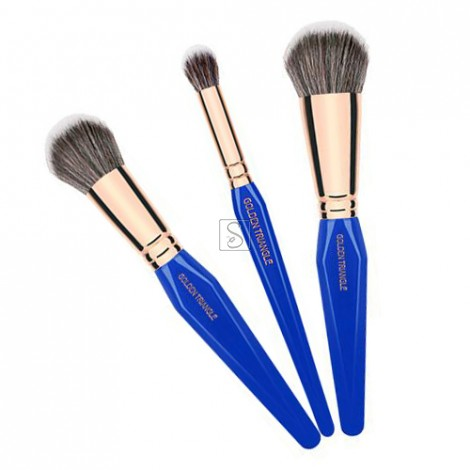 Golden Triangle BDHD 3pc. Brush Set - Bdellium Tools
