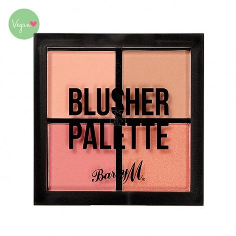 Blusher Quad Palette - Barry M