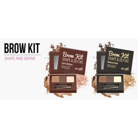 Brow kit Shape & Define - Medium/Dark - Barry M