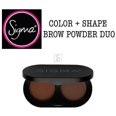 Color + Shape Brow Powder Duo - Sigma Beauty