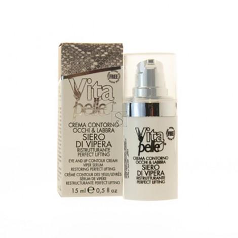 Crema contorno occhi & labbra ristrutturante - Siero di Vipera - Phytosintesi