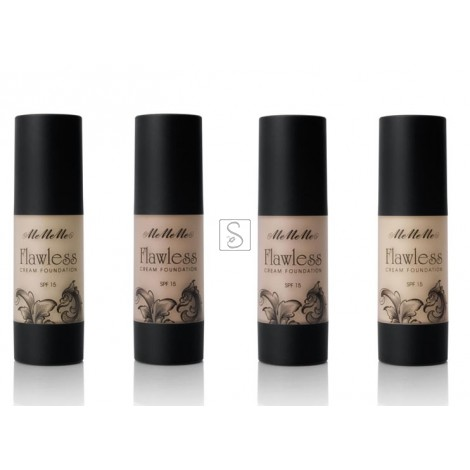 Flawless Finish Cream Foundation SPF 15 - MeMeMe Cosmetics