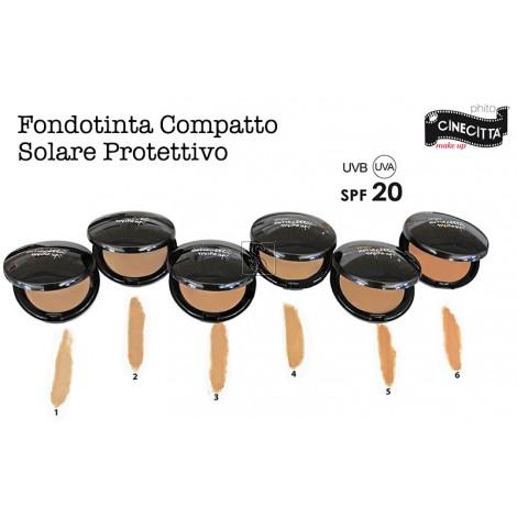 Fondotinta compatto solare protettivo SPF 20 - Cinecittà Make Up