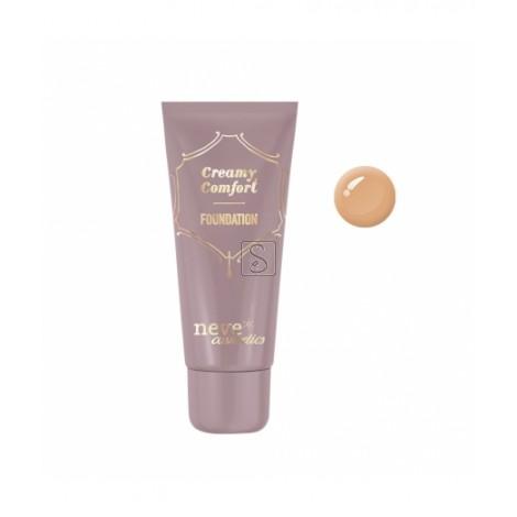 Fondotinta Creamy Comfort - Dark Warm - Neve Cosmetics