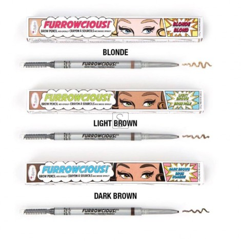 Furrowcious!® Brow Pencil with Spooley - The Balm Cosmetics