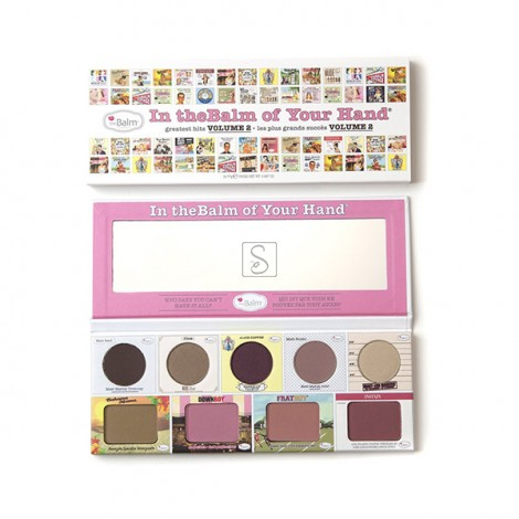 In The Balm Of Your Hand Vol. 2 Palette - The Balm Cosmetics