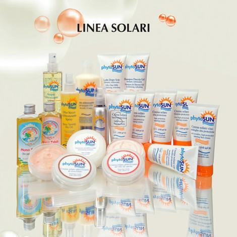 Crema solare abbronzante viso e corpo all'olio di carota