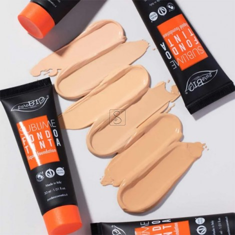 Sublime Fondotinta Fluido 2021 - PuroBio Cosmetics - StockMakeUp