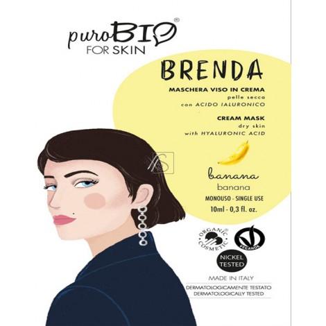 Maschera Viso in Crema Brenda - Pelle Secca - PuroBio Cosmetics - StockMakeUp