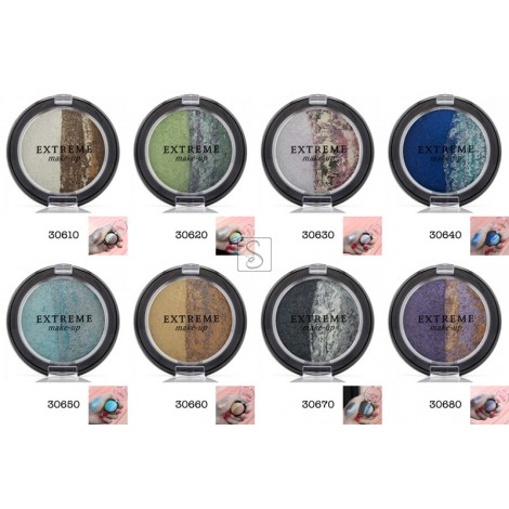 Ombretto Duo Melange Cotto - Extreme Make Up