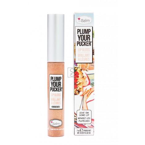 Plump Your Pucker® Lip Gloss - Overstate - The Balm Cosmetics