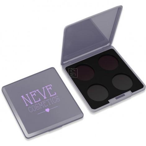 Palette Personalizzabile da 4 - Grey Glam - Neve Cosmetics