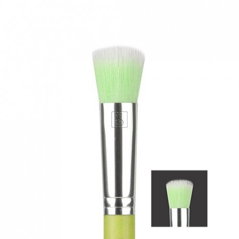 Green Bambu 953 Duet Fiber Foundation - Bdellium Tools