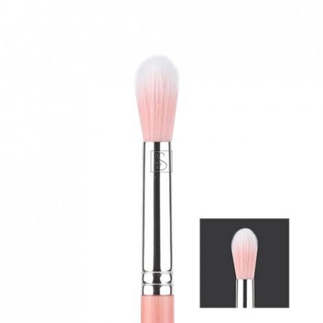 Pink Bambu 787 Duet Fiber Large Tapered Blending - Bdellium Tools