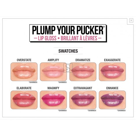 Plump Your Pucker® Lip Gloss - The Balm Cosmetics