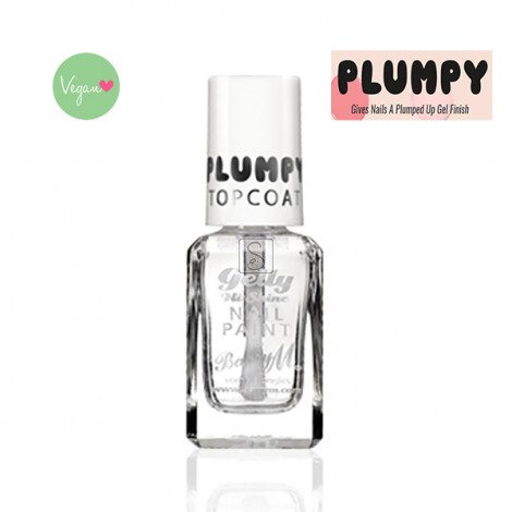 Plumpy Topcoat Clear - Barry M