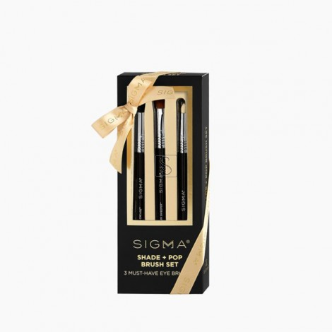 Shade + Pop Brush Set - Sigma Beauty