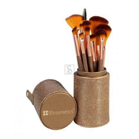 Shimmering Bronze Set 12 pennelli - BH Cosmetics