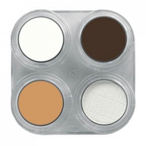 Tavolozza Crème Make up - 4 colori - Grimas