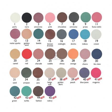 Tavolozza ombretti compatti Kent's - 9 colori da 1 a 12