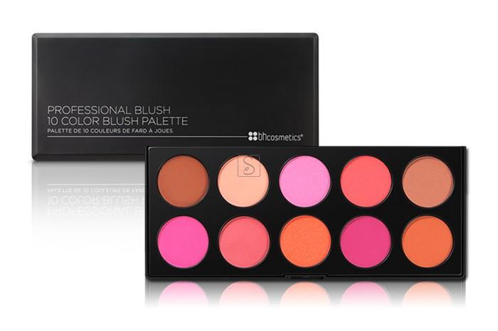 10 Color Professional Blush Palette - BH Cosmetics