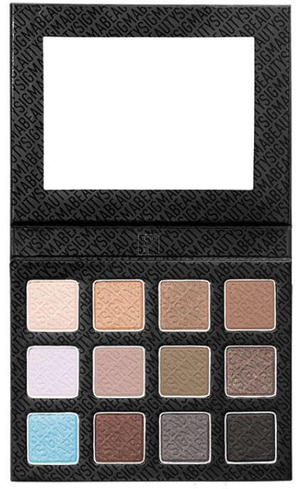 Eye Shadow Palette Smoke Screen - Sigma Beauty