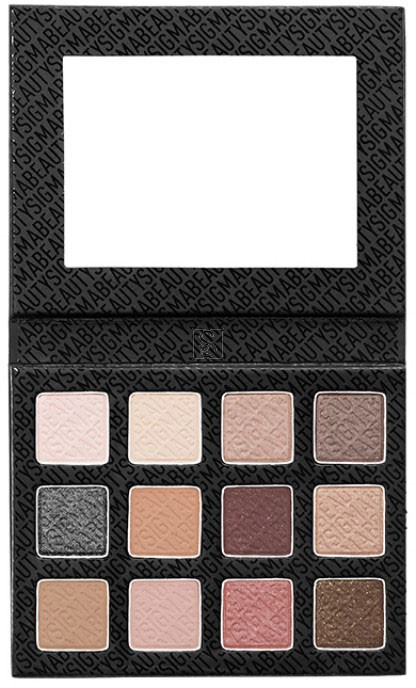 Eye Shadow Palette Warm Neutrals - Sigma Beauty