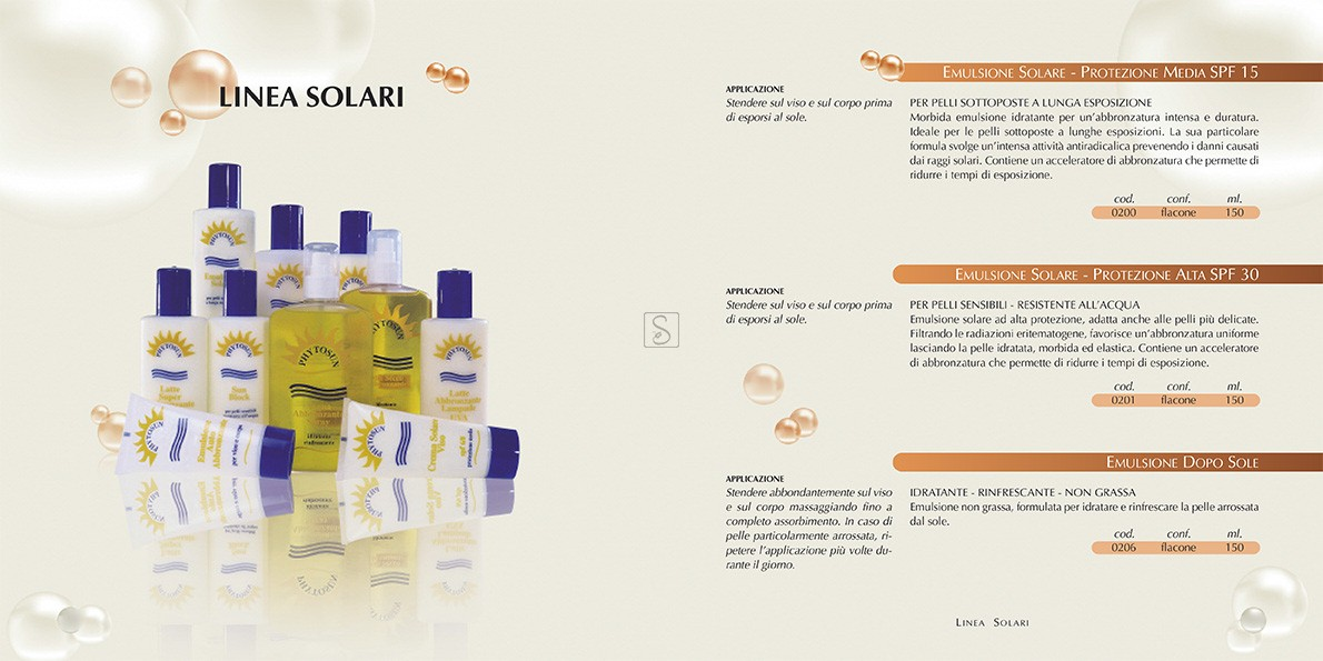 Crema solare bassa protezione SPF10