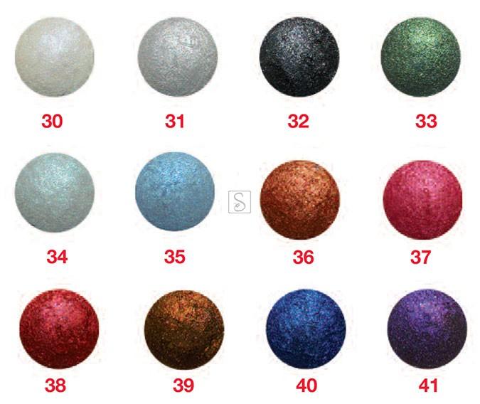 Ombretto cotto effetto diamante colorario
