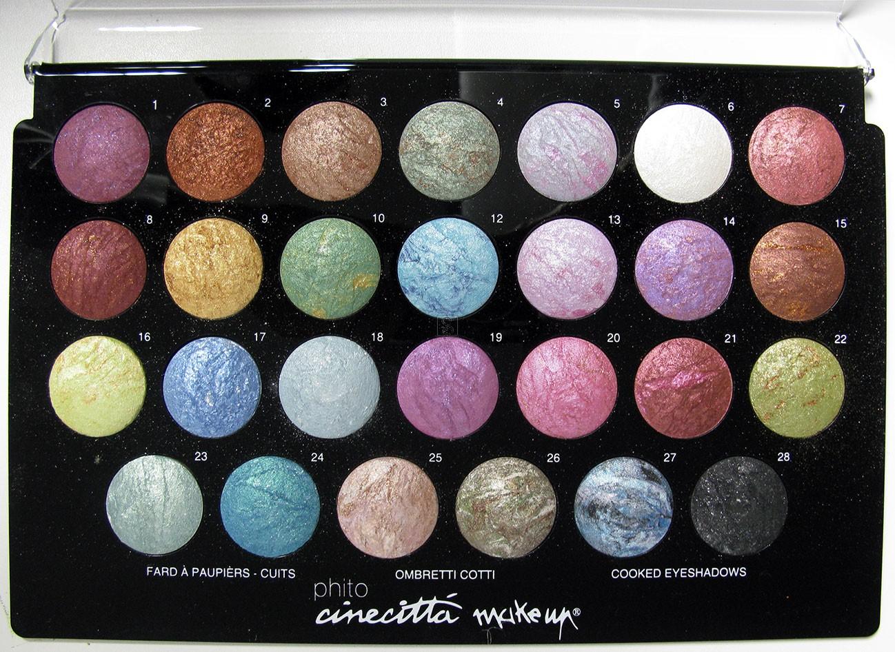 Tavolozza 27 ombretti compatti - Cinecittà make-up