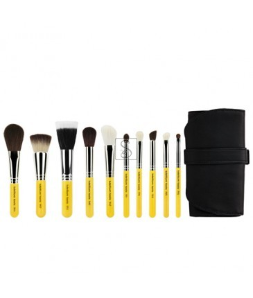 Travel Mineral 10pc. Brush Set