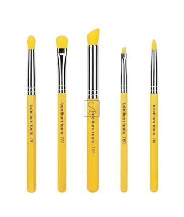 Yellow Bambu Smoky Eyes 5pc. Brush Set