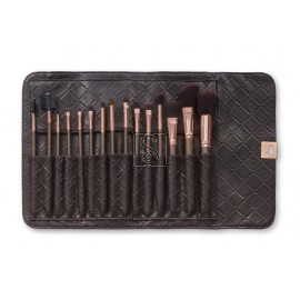 15 pc Rose Gold Brush Set  - BH Cosmetics