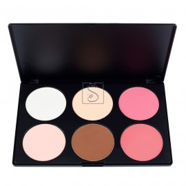 6 Contour Blush Palette - PL-008 - Coastal scents