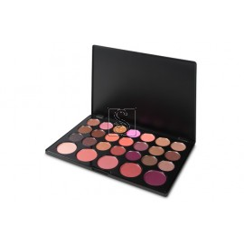 Blushed Neutrals – 26 Color Eyeshadow and Blush Palette - BH Cosmetics