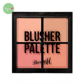 Blusher Quad Palette - Barry M