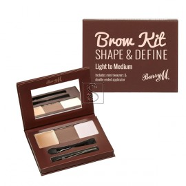 Brow kit Shape & Define - Light/Medium - Barry M