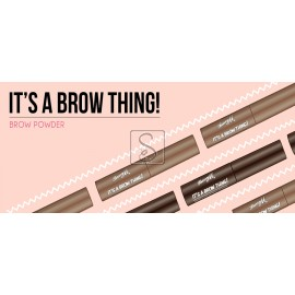 It's A Brow Thing! - Brow Powder - Barry M