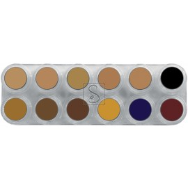 Tavolozza Camouflage Make up - CB - 12 colori - Grimas