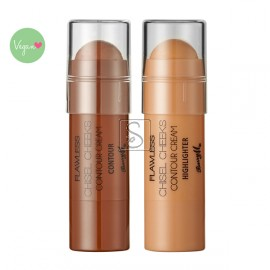 Chisel Cheeks Contour Creams - Barry M