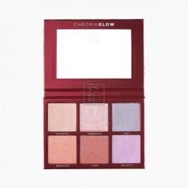 Chroma Glow Shimmer + Highlight Palette - Sigma Beauty