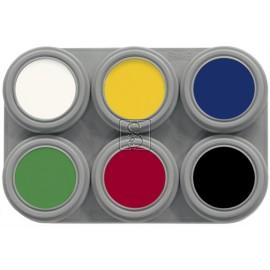 Tavolozza Crème Make up - 6 colori - Grimas
