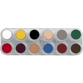 Tavolozza Crème Make up - B - 12 colori - Grimas