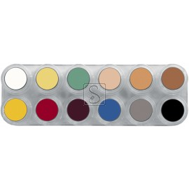 Tavolozza Crème Make up - L - 12 colori - Grimas