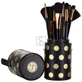 Dot Collection Black Set 11 pennelli - BH Cosmetics
