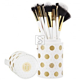 Dot Collection White Set 11 pennelli - BH Cosmetics