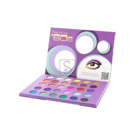 Eyes On The '60s Eyeshadow Palette - BH Cosmetics - StockMakeup